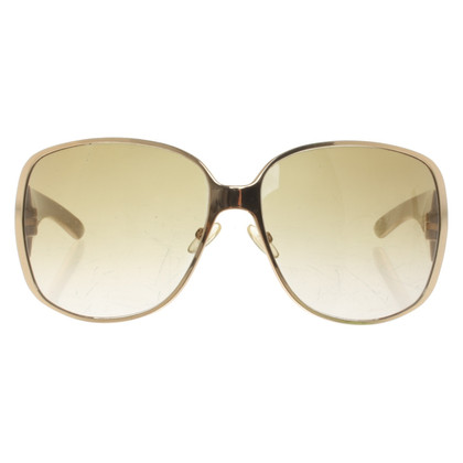 Christian Dior Occhiali da sole dorati