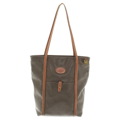 Mulberry Olivfarbener Shopper