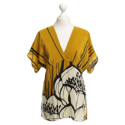 Hale Bob Silk top with print