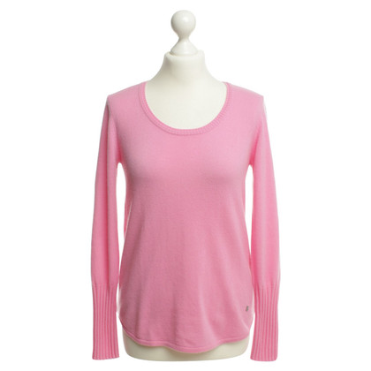 Bogner Rosa maglione lavorato a maglia in cashmere