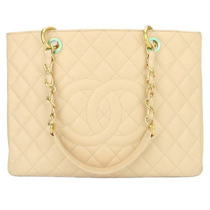 "Chanel ""Grand Shopping Tote"" in Beige"