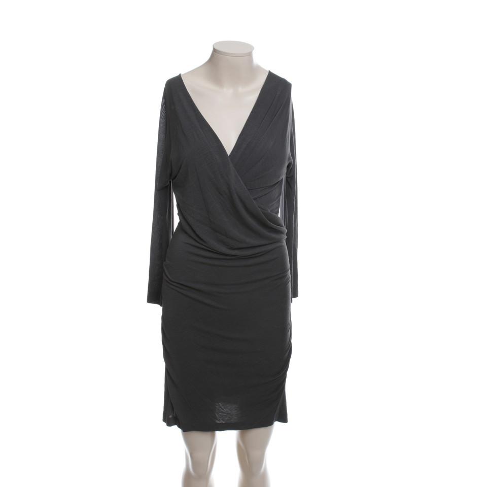 donna karan wickelkleid in taupe second hand donna karan. Black Bedroom Furniture Sets. Home Design Ideas