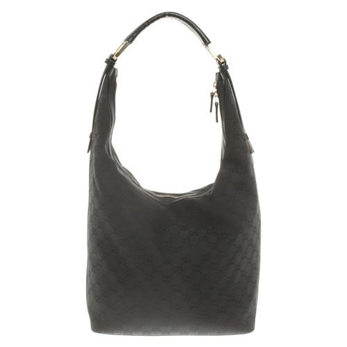 7a9f67137c05 Gucci Handbag with Guccissima pattern - Second Hand Gucci Handbag ...