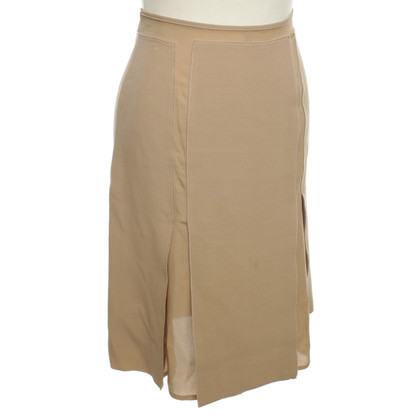 La Perla skirt in camel
