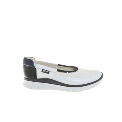 Jil Sander Slipper in zwart / White