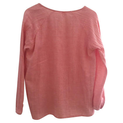 Hartford Blouse in wit / rood