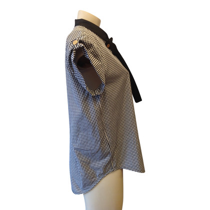 Louis Vuitton Blouse with Vichy check