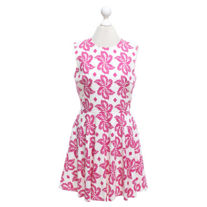 Diane von Furstenberg Dress in cream / pink