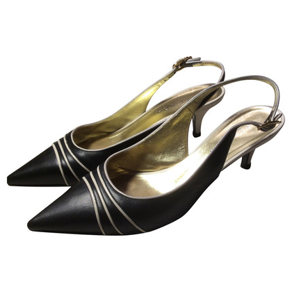 Escada Slingback Pumps in black