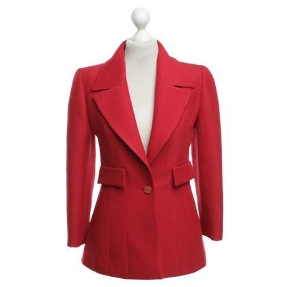 Chanel Blazer in het rood