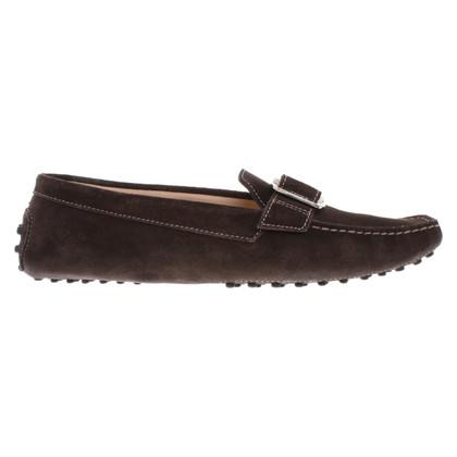 Tod's Loafer aus Wildleder