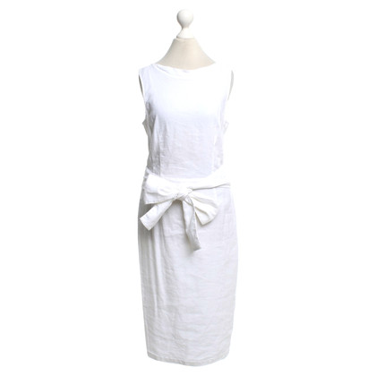 Armani Jeans Linen dress in cream white