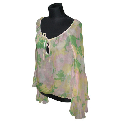 Paul & Joe Seidenbluse mit Blumenprint