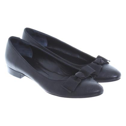 Max Mara Ballerina's in zwart
