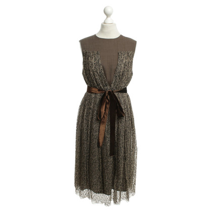 Wunderkind Dress in brown