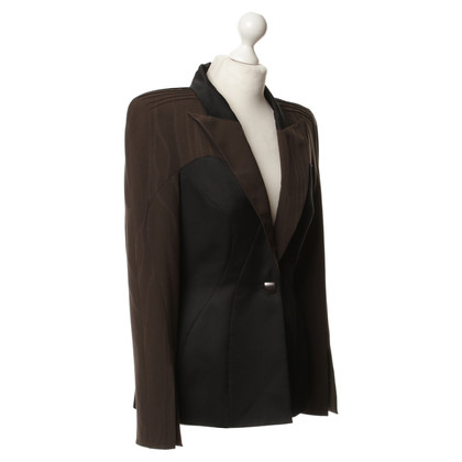 Mugler zwart-Brown Blazer