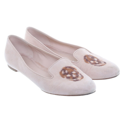 Alexander McQueen Loafer in cream