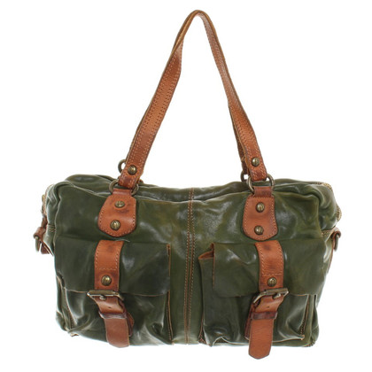 Campomaggi Leather handbag in vintage style