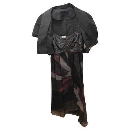 Max Mara zijden jurk met Bolero