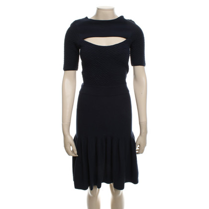 McQ Alexander McQueen Wool dress with texture