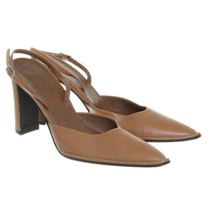 Jil Sander pumps Brown