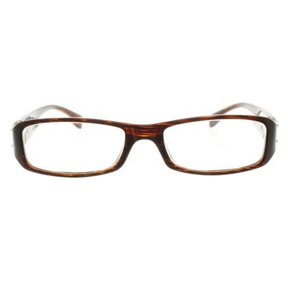 Miu Miu cadre lunettes brun