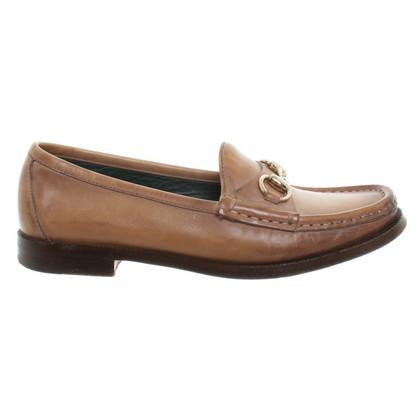 Gucci Pantofola in marrone chiaro