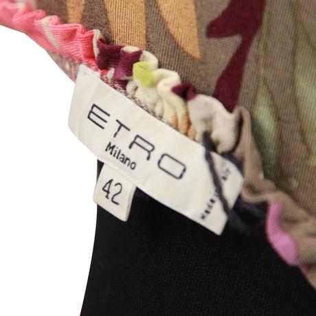 mit Andere Farbe Etro Bluse Bluse Etro mit Blumenmuster qBxgpp