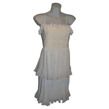 Blumarine robe blanche
