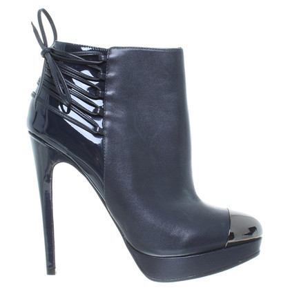 Just Cavalli Ankle Boots in Dunkelblau