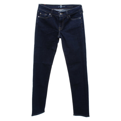 7 For All Mankind Jean bleu foncé