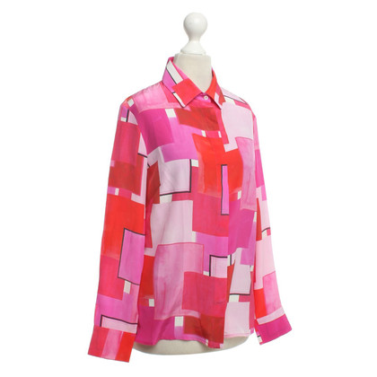 Other Designer Isolda - blouse with color blocking