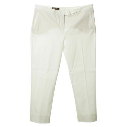 Loro Piana Pantalone in bianco