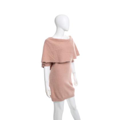 Elisabetta Franchi Wool dress in Nude