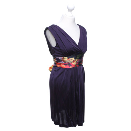 Ted Baker Kleid in Violett/Multicolor