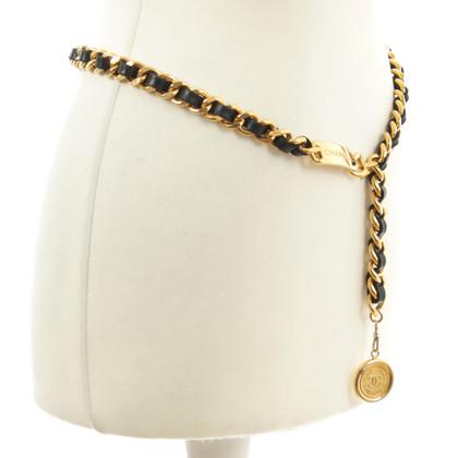 Chanel Braided chain belt