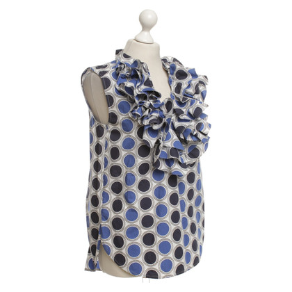 Marni Blouse top with pattern
