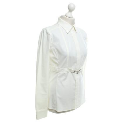 Gucci Blusa in crema bianca