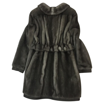 Blumarine visone cappotto
