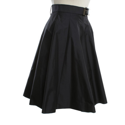 Prada Bell skirt in blue