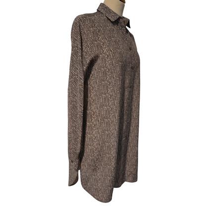Max Mara Silk tunic with pattern