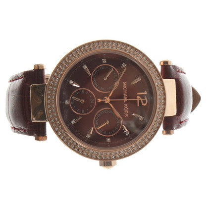 Michael Kors Wristwatch in dark red