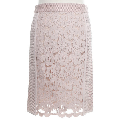 Marc Cain skirt with embroidery trim