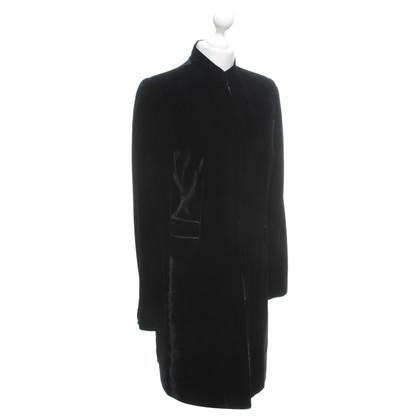 Steffen Schraut Velvet coat in black