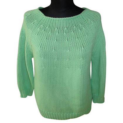 Diane von Furstenberg Grobstrick-Pullover in Grün