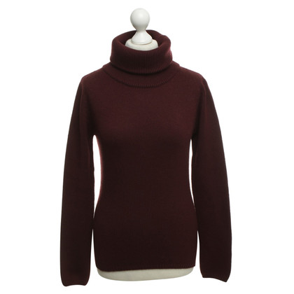 Other Designer Cruciani cashmere sweater in Bordeaux