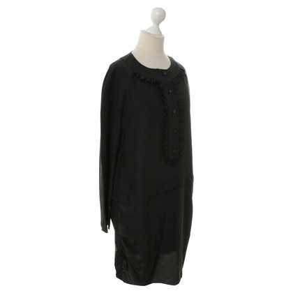 Marni Black silk dress