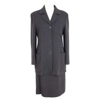 Max Mara Max Mara wool gray suit skirt