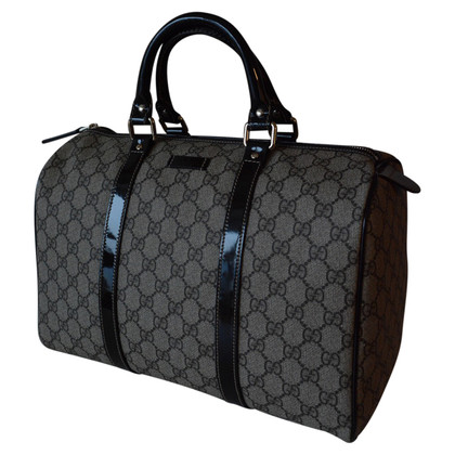 "Gucci ""GG Supreme Canvas Boston Bag"""