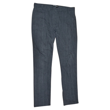 Ann Demeulemeester pantaloni lana e lino